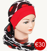 soft cap with scarf 30